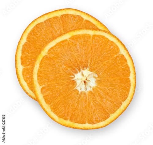 Photo orange slices