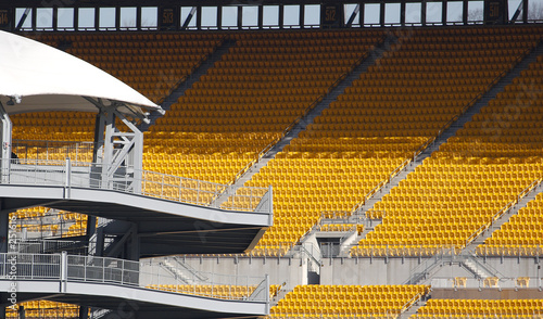 Photo  stadium seats