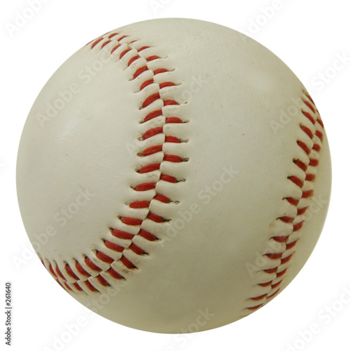 Photo  baseball ball