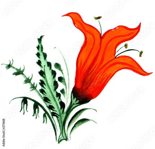 czerwony-kwiat