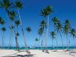 canvas print picture punta cana beach