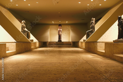 Obraz na plátně museum at luxor - egypt