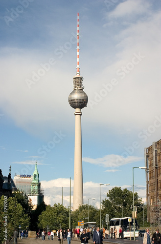 Photo  fernsehrurm berlin 01