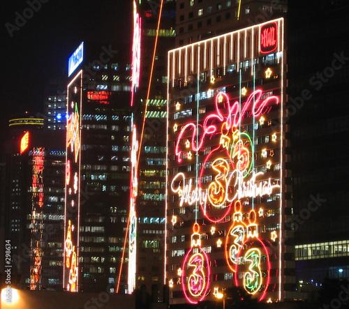 Recess Fitting Hong-Kong christmas neons in hong kong
