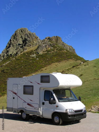 Fotografering  traveling in motorhome 2