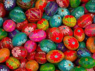 Fototapeta na wymiar easter eggs
