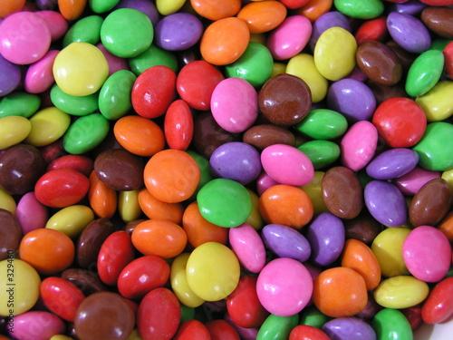 Deurstickers Snoepjes bonbons colorés