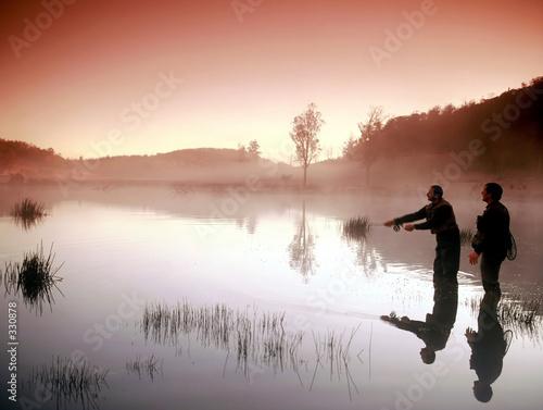Fotografie, Tablou fly fishing