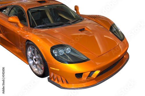 Deurstickers Snelle auto s stylish saleen sports car