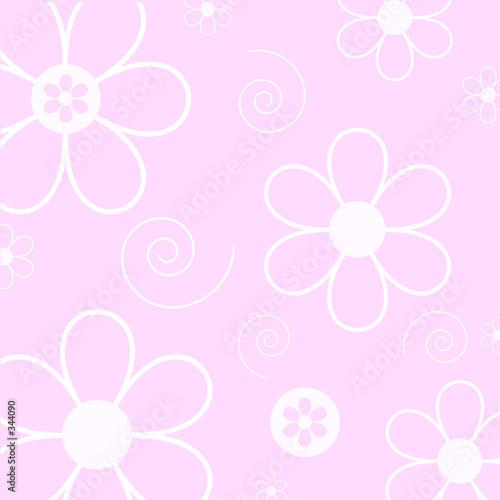 Foto-Stoff bedruckt - floral background (von Kirsty Pargeter)