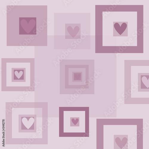Foto-Stoff bedruckt - heart background (von Kirsty Pargeter)