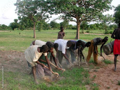Foto op Canvas Afrika cultures au burkina faso