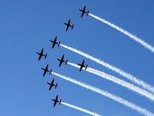 Synchronized Team Flight- Flyi...