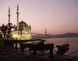 canvas print picture - the buyuk mecidiye mosque