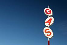 Gas Sign Retro