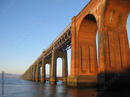 In de dag Brug tay rail bridge