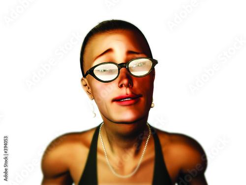 "Fotografie, Obraz  ""kim"" caricature plaintif"