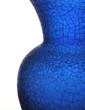 canvas print picture - blue glass vase art
