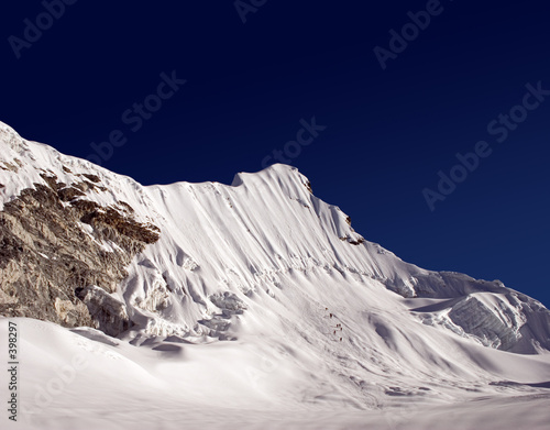 Valokuvatapetti island peak - nepal