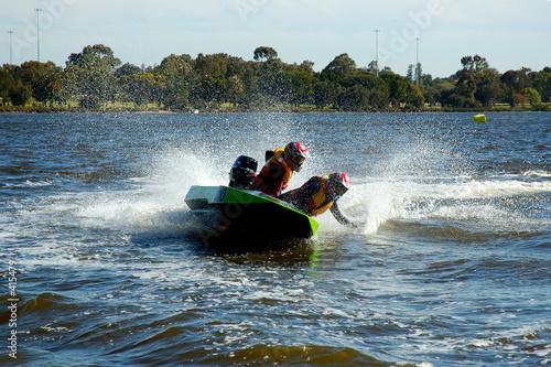Poster Water Motor sports leadership
