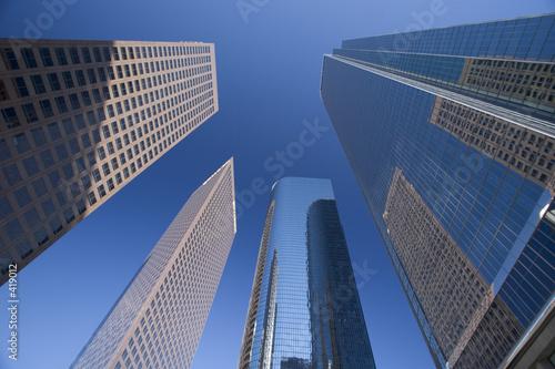 Fototapeta downtown high rise obraz