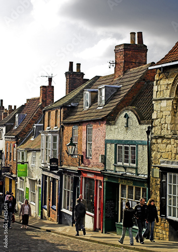 Fotografia  old town high street