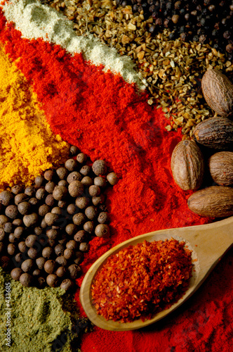 Canvas Prints Spices spices