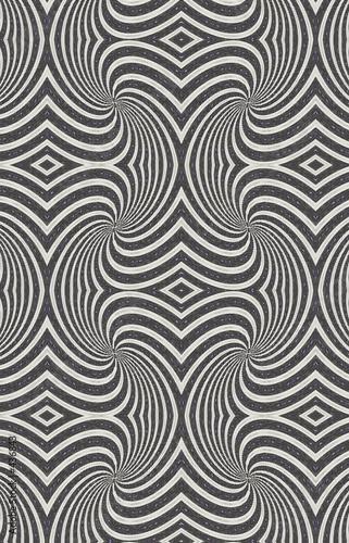 Wall Murals Psychedelic zebra stripes