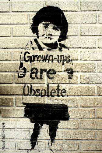 stencil - grown-ups are obsolete