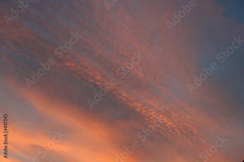 Fotografie, Tablou  altostratus au coucher du soleil