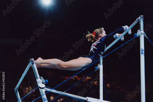 Photo Stands Gymnastics internationaux de gymnastique