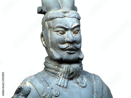 Tuinposter Xian terracotta soldier of ancient chinese emporer qin