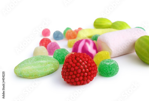 Foto op Canvas Snoepjes jelly sweets - candies colorfull
