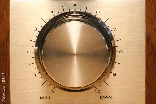 Fotografie, Obraz  control knob