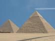 Leinwandbild Motiv the great pyramids of gizeh