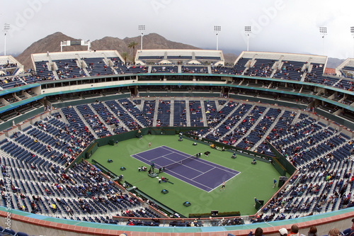 Papiers peints Stade de football tennis court at pacific life open