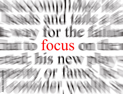 Canvastavla  focus