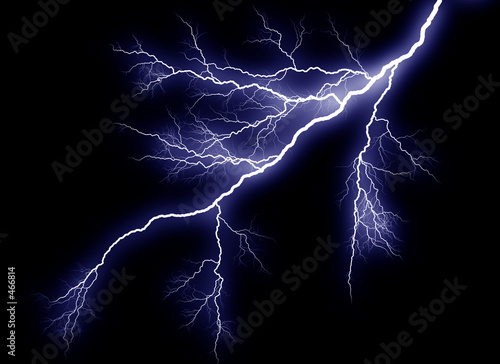Photo lightning strike
