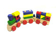 canvas print picture toy train