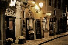 Romantisches Abendessen In Prag