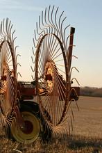 Wheel Rakes - Close-up