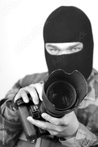 фотография special ops photographer. b&w 3