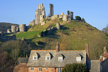 Corfe Castle, In Swanage, Dors...