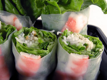 Vegetables Roll-close-up