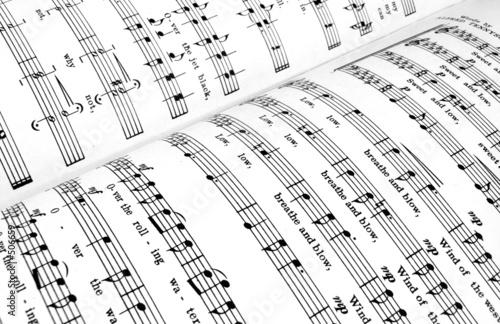 Photo sheet music