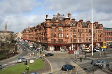 Glasgow Street Scene, Scotland