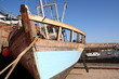 derelict boat in jersey