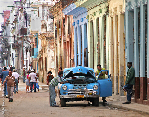 obraz PCV stalled in havana