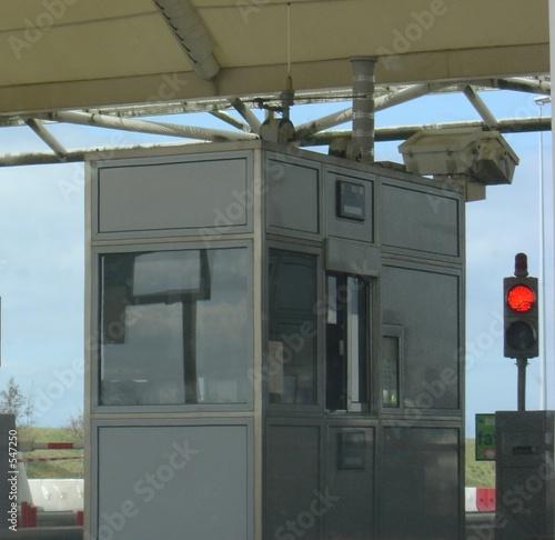 Foto op Aluminium Luchthaven gare de péage