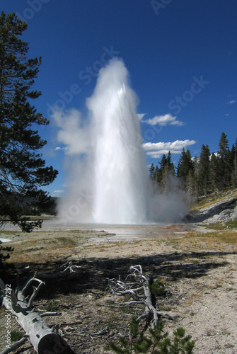Valokuvatapetti grand geyser